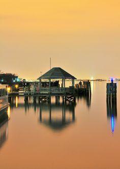 Old Town Alexandria at Dusk (1) - Virginia, USA by M. Khatib, via Flickr