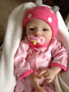 Reborn baby Morgan kit by Aleina Peterson  incredible realistic and adorable