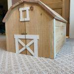 Minature Barn Playhouse