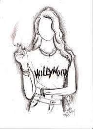 Pin Di Angela Rranxburgaj Su Pencil Drawings Nel 2020 Disegni Hipster Disegni Di Ragazza Anime Tumblr Art