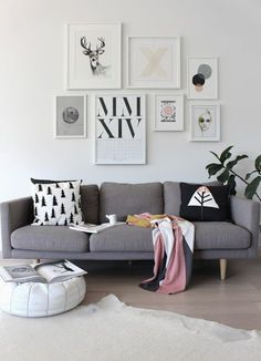 10 Tips To Master Your Modern Photo Wall | Home Decorating Trends | Bloglovin'