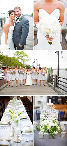 Classic Sage Green and White Spring Art Center Wedding in North Carolina - WeddingWire: The Blog