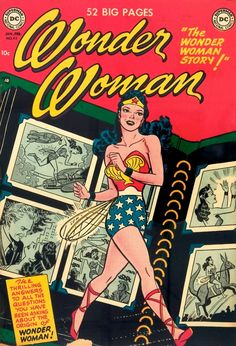 atompunk:    Wonder Woman comic 1950s