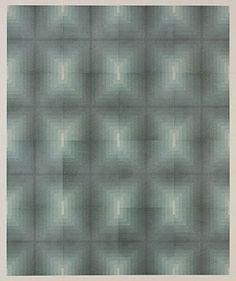 "Takuji Hamanaka- ""Repeat after me- Mirror"" (2011). Woodblock, 29"" x 24"""