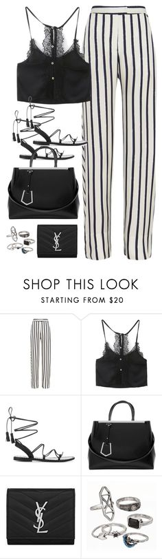 """Untitled#4625"" by fashionnfacts ❤ liked on Polyvore featuring Nicholas, Anine Bing, Fendi, Yves Saint Laurent and Mudd"