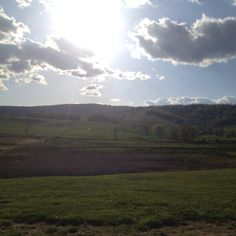 Paris, VA. I always go through here on the way to Winchester, VA and its always just as breathtaking.