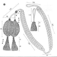 "Decorative cords (""raquettes"") specifications for Grenadier Guard Bearskin."