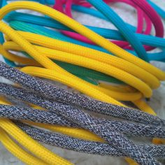 colours and ropes?