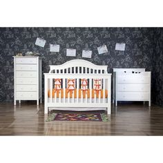 DaVinci Jayden 4 in 1 Crib with Toddler Rail - White ($280 but out of stock)