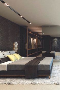 25 Trendy Bachelor Pad Bedroom Ideas | Home Design And Interior