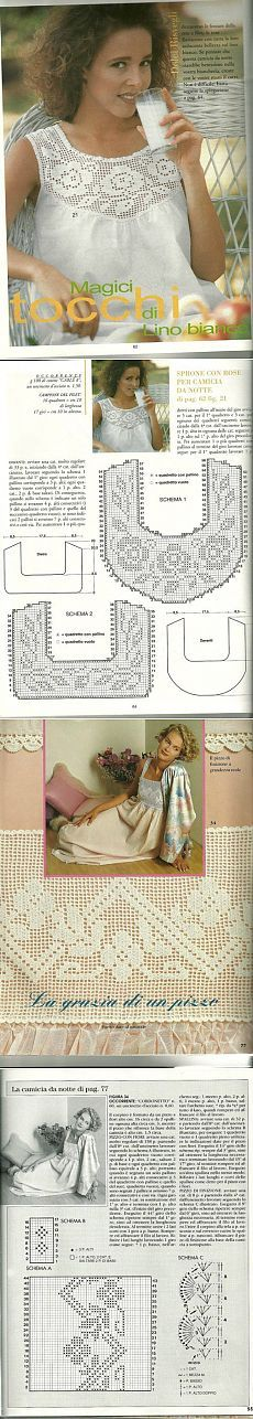 Captivating Crochet a Bodycon Dress Top Ideas. Dazzling Crochet a Bodycon Dress Top Ideas. Filet Crochet, Col Crochet, Crochet Collar, Crochet Diagram, Crochet Woman, Crochet Blouse, Crochet Chart, Thread Crochet, Irish Crochet