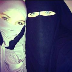 Find images and videos about islam, sisters and niqab on We Heart It - the app to get lost in what you love.