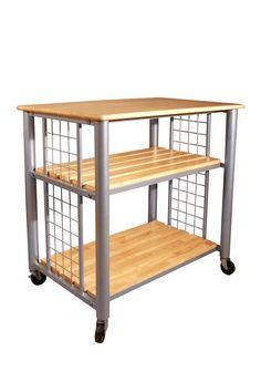 Contemporary Kitchen Cart on @HauteLook