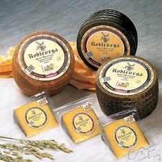 Manchengo cheese, a great tasting and easily broken up food well known today and in the past in Barcelona.