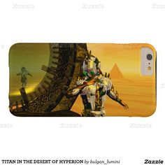 TITAN IN THE DESERT OF HYPERION BARELY THERE iPhone 6 PLUS CASE