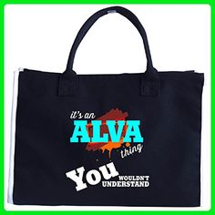 It's An Alva Thing You Wouldn't Understand V4 - Tote Bag - Top handle bags (*Amazon Partner-Link)