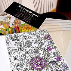 Spectrum Noir Variety Marker Bundle With USB Coloring Books