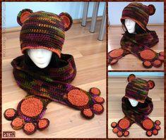 ::Bear Hat and Scarf:: by Petra0.deviantart.com on @deviantART