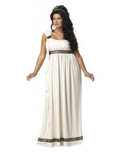 beca2f49287 Amazon.com  California Costumes Women s Plus Size Olympic Goddess Costume   Clothing