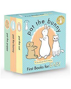 """Random House """"Pat the Bunny"""" Set of Three Books by Dorothy Kunhardt"""