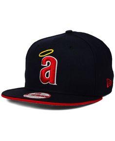 33f263863e2 New Era Los Angeles Angels of Anaheim Coop Flip 9FIFTY Snapback Cap Men -  Sports Fan Shop By Lids - Macy s