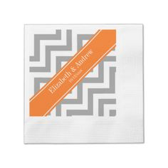Avoid any messy dinners with Initials napkins from Zazzle. Browse through our marketplace of paper and cloth napkins ranging in different styles and sizes. Cloth Napkins, Paper Napkins, Chevron Pumpkin, Monogrammed Napkins, Zig Zag Pattern, Anniversary Parties, Grey And White, Metals, Fields