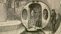 By the mid-1800s New York City was one of the most crowded places on earth. Each year tens of thousands of new immigrants were arriving, spilling out into the streets and competing with established city dwellers for space. The congested streets and pokey transportation system were a source of constant complaint. | New York Underground preview . American Experience . PBS