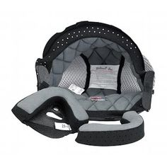 Biltwell Liner Helmet Bonanza Sm HL-SML-BH-BK Replace worn or dirty helmet liner in Bonanza open-face helmets Includes one interior comfort liner and two cheek pads Easy installation Biltwell Helmet, Helmet Liner, Open Face Helmets, Baby Car Seats, All In One, Black And Grey, Bike, Interior, Masks