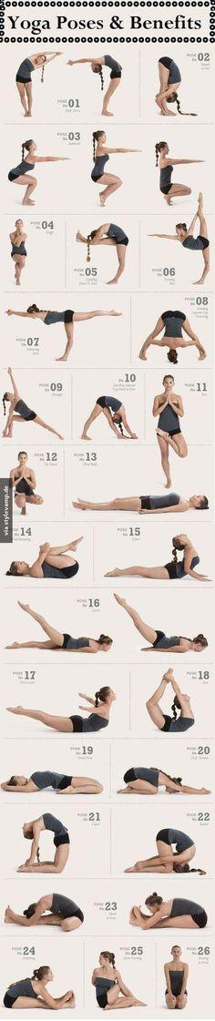 Yoga-Fahrplan