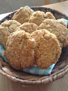 Week 2: biscuits. Gluten, dairy, sugar, yeast free Anzac biscuits