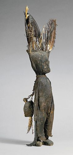 This is my favorite sculpture. Kafigeledjo from the Ivory Cost. from the collection at the Met.