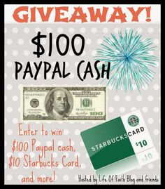 Win $100 and Starbucks Card and More! - Foxys Domestic Side