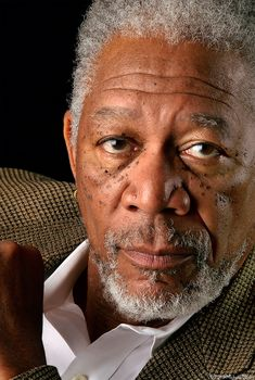 "Morgan Freeman...also known as ""The Voice of God."" He has a great body of work, and he's great fun to watch no matter what kind of character he is playing."