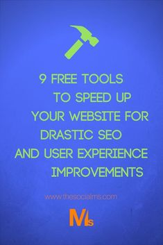 Website speed is important for your SEO as well as the User Experience on your site. But improving your site speed can be hard - here are 9 free tools that will make your site run like a Ferrari. Content Marketing Tools, Online Marketing Tools, Internet Marketing, Business Marketing, Web Design Tips, Ios Design, Dashboard Design, Design Process, Graphic Design