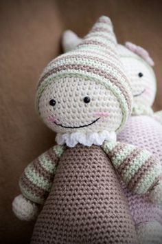 Cuddly Baby Amigurumi Pattern