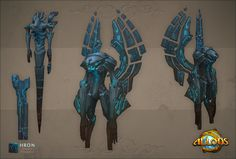 ArtStation - Architects, Allods Online Characters, Anatoly Dragunov