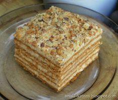Marlena z Czech. Polish Desserts, Polish Recipes, No Bake Desserts, Dessert Recipes, Easy Baking Recipes, Cooking Recipes, Sweet And Salty, Sweet Recipes, Quiche