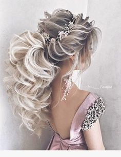 DIY Ponytail Ideas You're Totally Going to Want to 2019 Formal Ponytail Hairstyle; Wedding Hairstyles Related Lange Frisuren mit Schichten - Holen Sie sich den Promi-Look. Formal Ponytail, Ponytail Updo, Ponytail Ideas, Low Ponytails, Ponytail Styles, Formal Updo, Daily Hairstyles, Formal Hairstyles, Braided Hairstyles