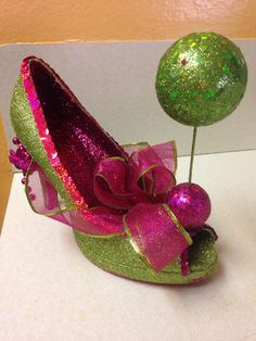 Lime berry-Muses shoe 2014  created by Glitter365