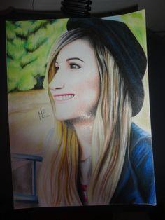 #Lana Lanita, #draw, #dibujo, #picture, #draw #illustration #portrait #realism #art #dibujo,  #youtuber, #youtube,