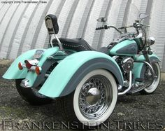 {Sweetness!!} Champion Harley Heritage Fatboy Trike maybe a different color