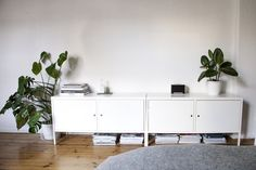 Stilvolle Studentenbude: zu Besuch bei Herr Glück in Berlin | #tinyflat #smallroom #oneroom #appartment #einzimmerwohnung #solebich #interior #interiordesign #greenery