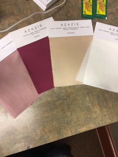 Wedding colors: mulberry, dusty rose, gold and ivory