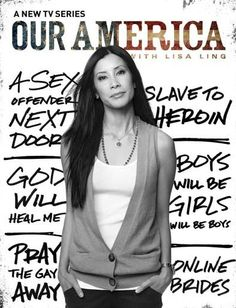 I like Our America with Lisa Ling because it shows something a little new, a little different on television compared to other shows. This is also a good advertisement poster. Link: http://www.oprah.com/own-our-america-lisa-ling/our-america-lisa-ling.html