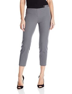 Elie Tahari Women's Juliette Cropped, Shark Fin, 16 -- Find out more about the great product at the image link.