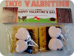 adorable s'more valentine