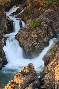 Somphamit Waterfall, Don Khon, 4000 Islands, Laos