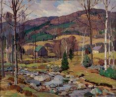 Vermont brook, Spring - Aldro Thompson Hibbard