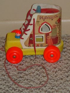 Playskool Lace Up Shoe Pull