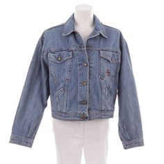 Schicke Jeansjacke von Trussardi in Blau Gr. IT 48 DE 42 - sportiv und trendy